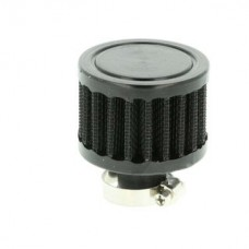 Black air filter for crankcase or oil-catch tank