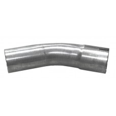 Simons Exhaust bend 45° 2.5""