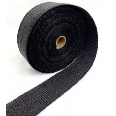 10m Heat Wrap - Ceramic – Black – 50mm wide
