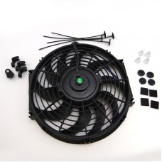 Push Pull Fan radiator cooling